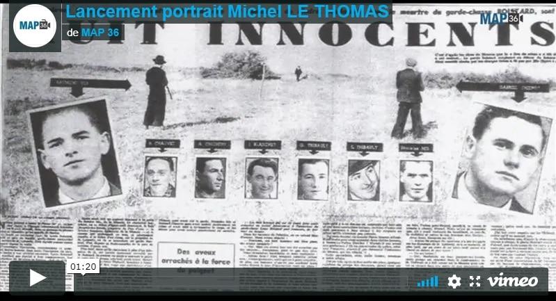 Lancement portrait Michel LE THOMAS