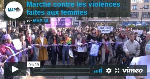 Marche contre la violence faite aux femmes