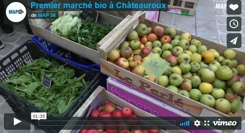 Marché Bio à Châteauroux