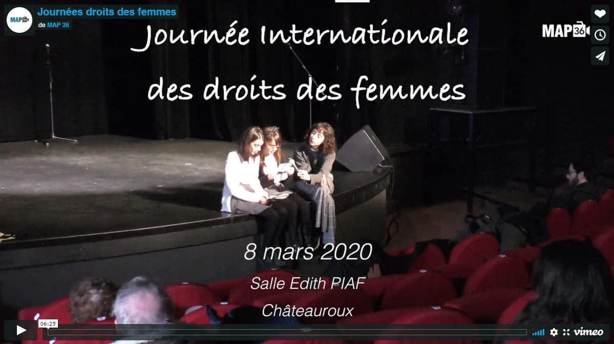 Journée droits des femmes