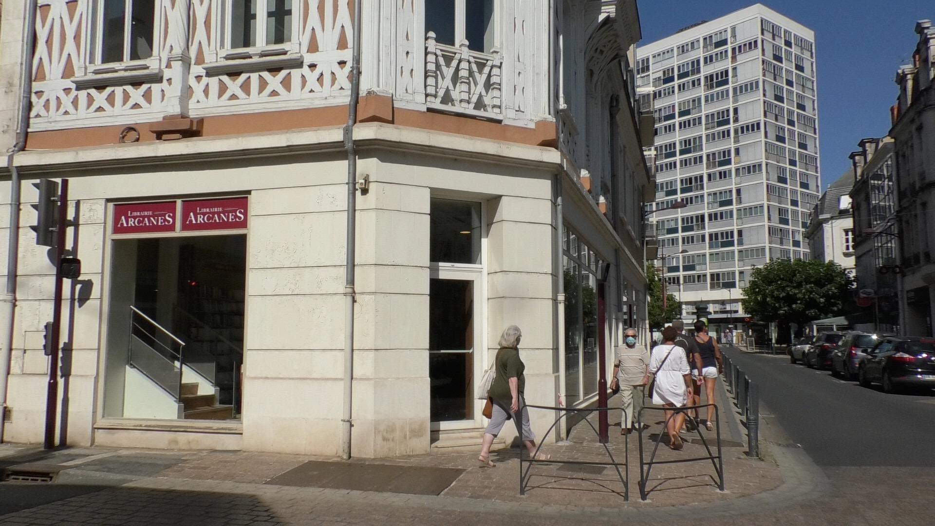La nouvelle librairie Arcanes