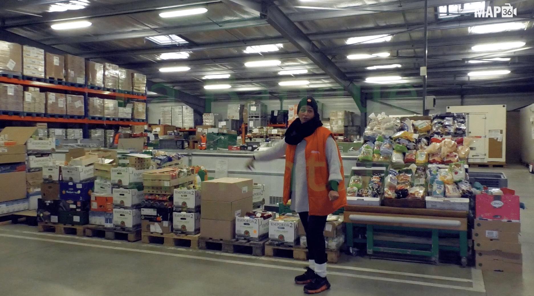 Solidaires face au Covid : La banque alimentaire