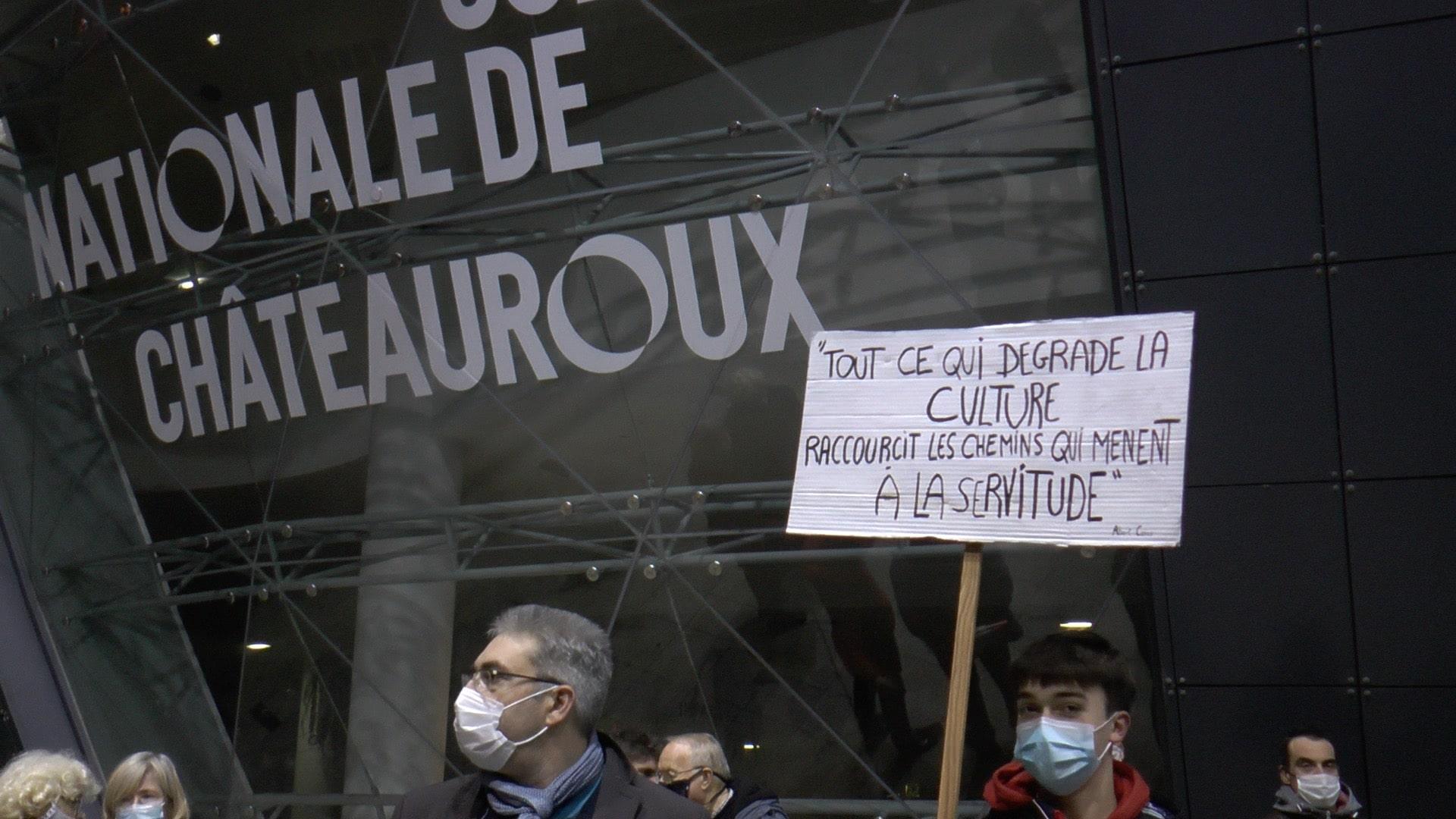 Rassemblement pour défendre la culture